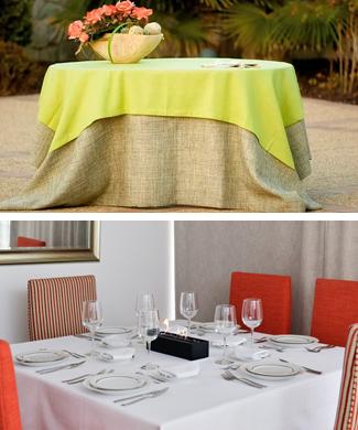 Manteles manteleria caminos de mesa servilleta for Caminos para mesas redondas